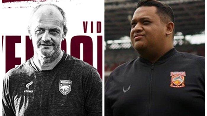 Murka Pesut Etam Imbang Lawan Persita, Nabil Husein Umumkan Risto Vidakovic jadi Pelatih Borneo FC