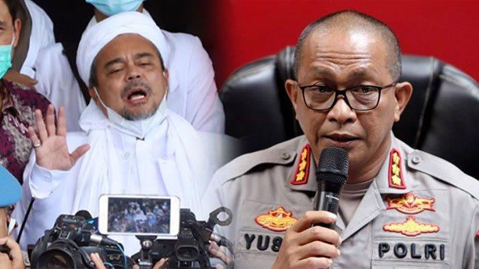 Nasib Terkini Pimpinan FPI Rizieq Shihab, Ditahan Polda Metro Jaya, Kalah di Sidang Praperadilan
