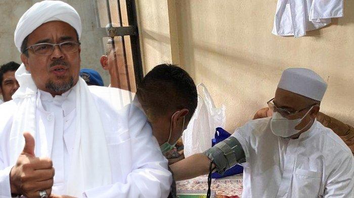 Polisi Beberkan Kondisi Habib Rizieq, Kuasa Hukum Sempat Sebut Keadaan Darurat dan Nyaris Pingsan