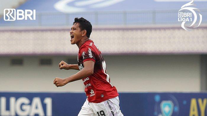 Hasil Liga 1, Rizky Pellu Bawa Bali United ke Puncak Klasemen, Kalahkan Barito Putera, Skor 2-1