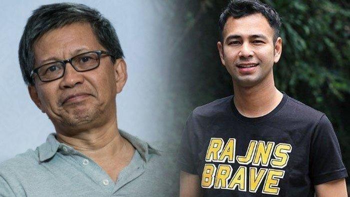 Reaksi Rocky Gerung saat Raffi Ahmad Dilaporkan ke Polisi, Bandingkan dengan Kasus Rizieq Shihab