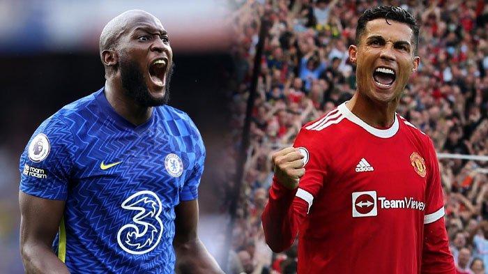 Romelu Lukaku dan Cristiano Ronaldo sama-sama mencetak brace untuk timnya, dalam lanjutan Liga Inggris.