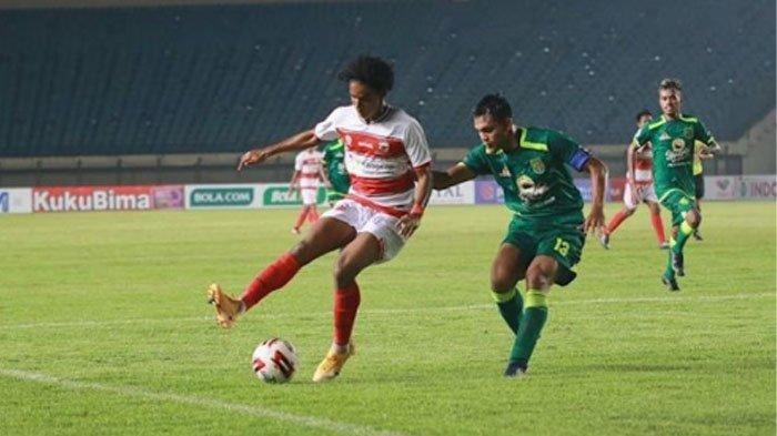 Tayang Sekarang di Indosiar, Madura United vs PSS, Ronaldo dan Irfan Jaya Starter, Skor 0-0