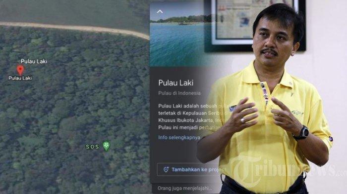 Viral Tanda SOS di Pulau Laki, Area Jatuhnya Sriwijaya Air SJ 182, Roy Suryo Ungkap Fakta Sebenarnya