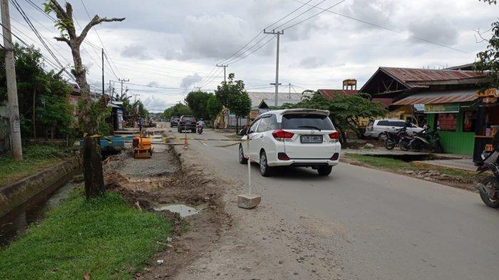 Cegah Kemacetan, Dishub Kaltara Bakal Pasang Rambu Larangan Parkir di Jalan Durian Tanjung Selor