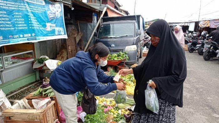 Pedagang Sayur di Nunukan Ini Sebut Harga Sayur Sawi Sempat Rp 20 Ribu Per Ikat, Berikut Penyebabnya