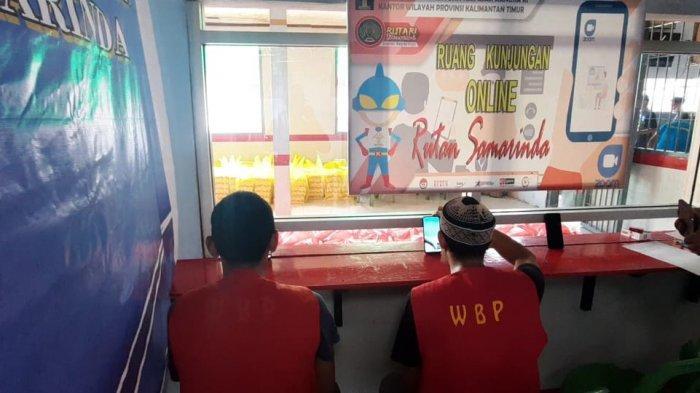 Warga Binaan di Rutan Samarinda Senang, Lebaran Bisa Sungkem Orangtua Lewat Video Call