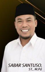Sabar Santoso Ikut di Partai Ummat, Mantan Ketua DPRD Tarakan Ini Ditunjuk Amien Rais Pic Kaltara