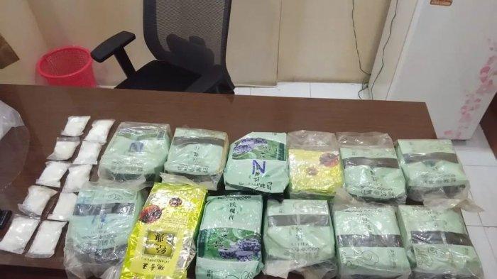 Bungkus Sabu 12,5 Kg Pakai Plastik Teh China, Seorang Buruh Pelabuhan Nunukan Ditangkap Polisi