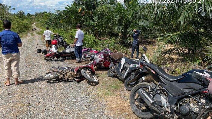 Sepeda Motor Plat Merah Ditemukan di Lokasi Sabung Ayam, Kapolres Nunukan akan Rekomendasikan Ini
