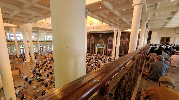 Aktivitas salat Idul Adha di Masjid Baitul Izzah 2020 lalu.