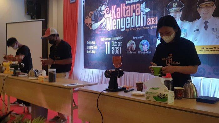 Jelang HUT Ke-9 Kaltara, Kompetisi Menyeduh Diikuti 34 Peserta, Unggulkan Produk Biji Kopi Lokal
