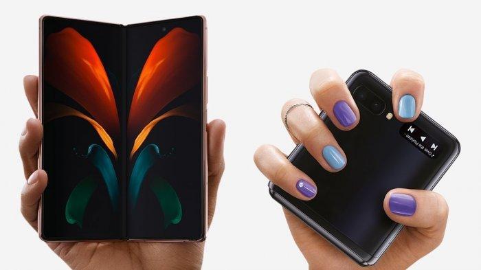 Samsung Galaxy Z Fold2 dan Galaxy Z Flip