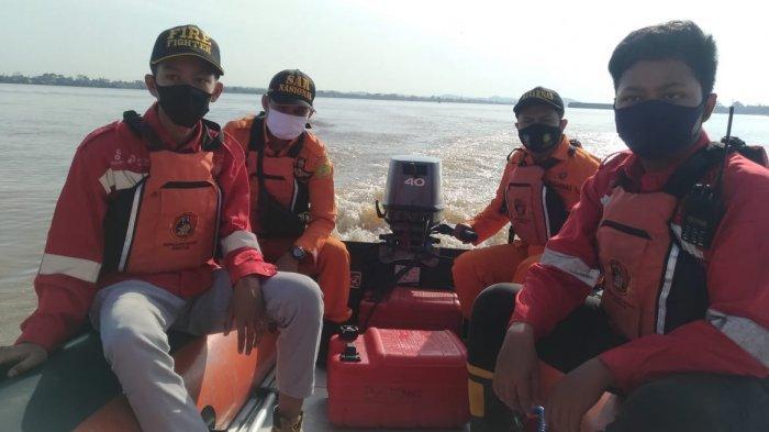Satu Orang Hilang di Sungai Mahakam, Kapal Kayu Tiba-tiba Tersedot Arus Ponton