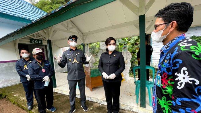 Bertambah Suspek Covid-19 di Perbatasan RI-Malaysia, Warga dan Nakes Kayan Hulu Malinau Lakukan Ini