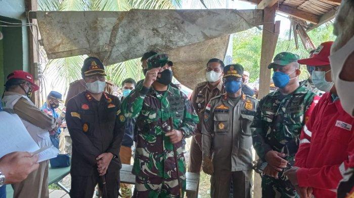 Satgas Penanganan Covid-19 Sidak ke Posko, Ratusan Pelaku Perjalanan Keluar Masuk Malinau