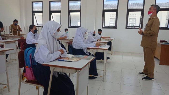 Kabupaten Malinau Masih PPKM Level 3, PTM Terbatas di Sekolah Dievaluasi Tiap Pekan