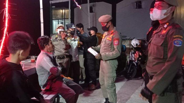 Satpol PP Tarakan Beri Pelajaran ke 25 Orang saat Patroli Tahun Baru, Disuruh Nyanyi Indonesia Raya