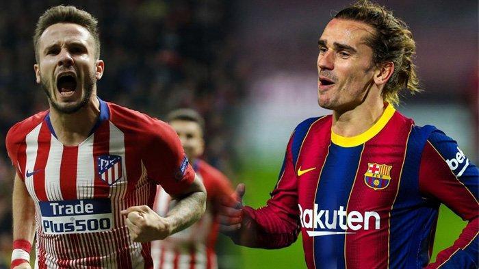 Manuver Barcelona Tak Cuma Amankan Messi, Griezmann Ditukar Saul Niguez dari Atletico