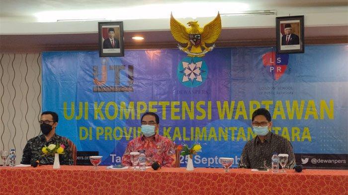 Tingkatkan Profesionalitas Wartawan, Sekprov Kaltara Apresiasi UKW yang Digelar LSPR di Tarakan