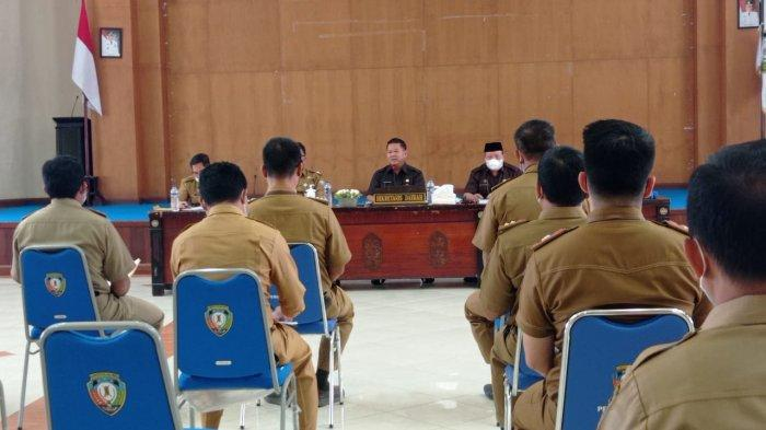 Persiapan Jelang Transisi Pemerintahan, Pemkab Malinau Godok LKPJ Bupati Akhir Masa Jabatan
