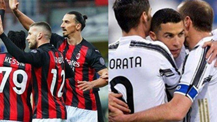 Big Match Liga Italia Juventus vs AC Milan, Duel Tajam Ronaldo & Ibrahimovic Demi Liga Champions