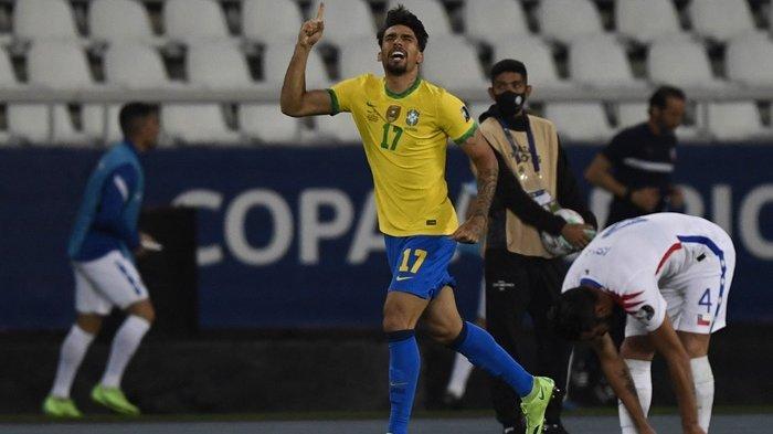 Hasil Semifinal Copa America 2021: Gol Tunggal Paqueta ke Gawang Peru Loloskan Brasil ke Babak Final