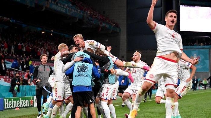 Drama Denmark Lolos 16 Besar Euro 2020, Ditinggal Eriksen, Kini Bantai Rusia 4-1 di Laga Pamungkas