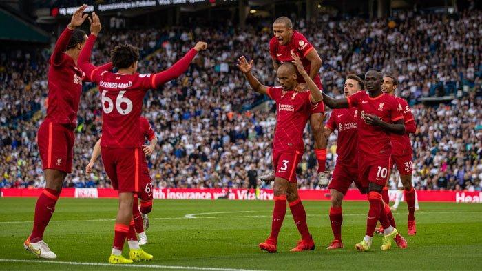 Klasemen Liga Inggris, Manchester United Aman di Puncak, Liverpool Lewati Man City Usai Hajar Leeds