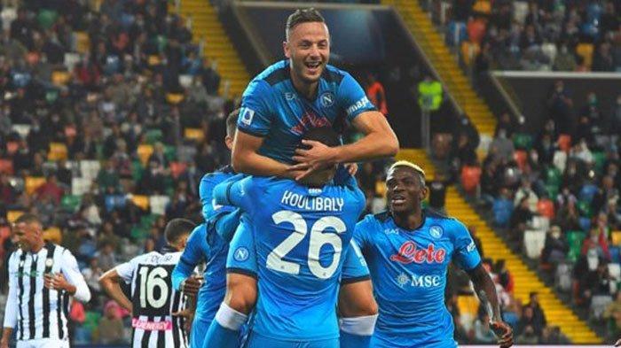 Anak Asuh Luciano Spalletti Ngamuk, Napoli Bantai Udinese, Gusur Inter Milan & AC Milan di Klasemen