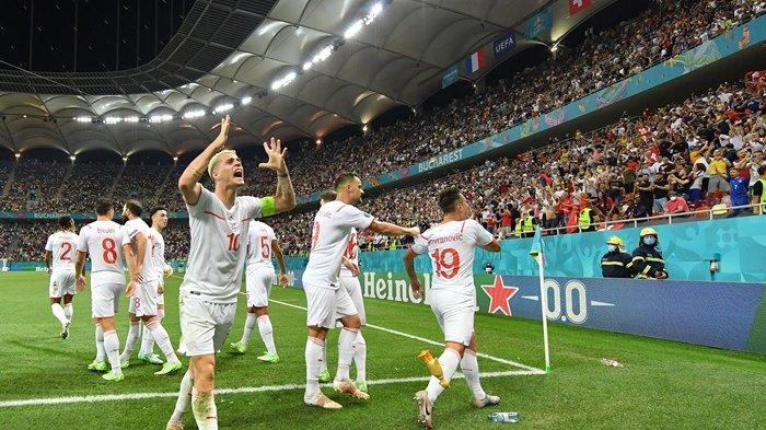 Timnas Prancis Tersingkir, Swiss Melaju ke Perempat Final Euro 2020, Bakal Lawan Spanyol