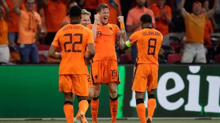 Hasil Euro 2020, Drama 5 Gol di Babak Kedua, Timnas Belanda Sukses Pecundangi Ukraina