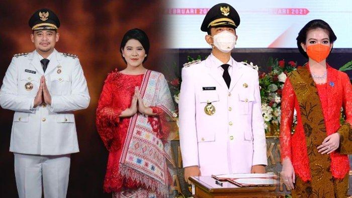 Selvi Ananda dan Kahiyang Ayu Kompak Pakai Warna Kebesaran PDIP saat Dampingi Suami Jadi Pejabat