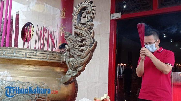 Ikuti Instruksi Pusat, Perayaan Tahun Baru Imlek di Toa Pek Kong Tarakan Tanpa Barongsai
