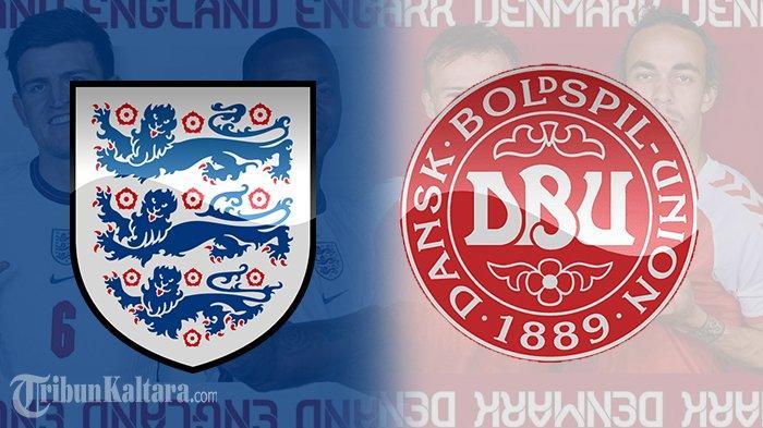 Siaran Langsung Inggris vs Denmark Euro 2020, Live Streaming Mola TV Pukul 02.00 Wib