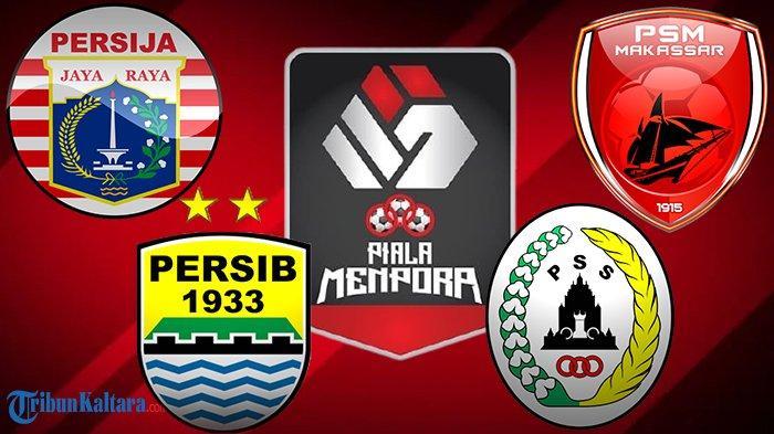 LENGKAP Jadwal Semifinal Piala Menpora 2021, Persija vs PSM dan PS Sleman vs Persib, Main 2 Leg