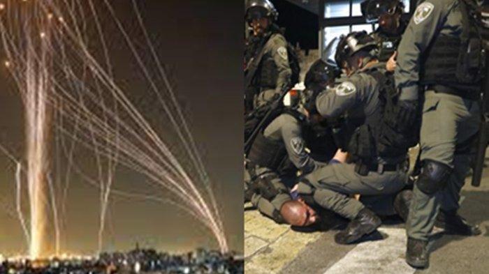 Saling Serang! Ini Roket Jenis Baru Pejuang Palestina Ditakuti Israel, Iron Dome Netanyahu Kelabakan
