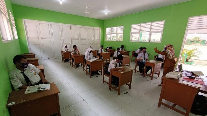Menuju PTM, 49 Sekolah di Tarakan Lakukan Simulasi, Endah: Setelah Simulasi, Guru Divaksin