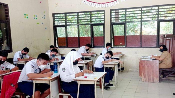 Ilustrasi, Siswa-siswi mengikuti kegiatan pembelajaran tatap muka (PTM) di sejumlah satuan pendidikan jenjang SD, SMP/sederajat di Kabupaten Malinau, Provinsi Kalimantan Utara, beberapa waktu lalu.