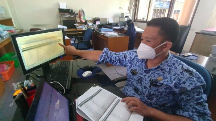 Pendataan secara manual melalui YoTube BKN Tarakan terhadap perolehan nilai tertinggi peserta yang melaksanakan SKD dan berhasil melewati passing grade.