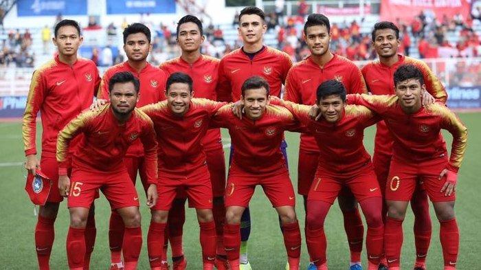 ILUSTRASI - Skuad Timnas U-23 Indonesia di SEA Games 2019. (Kompas.com / Garry Lotulung)