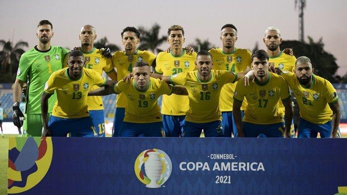 Neymar Absen, Brasil Ditahan Imbang Ekuador di Copa America, Kemenangan Beruntun Tim Samba Berakhir