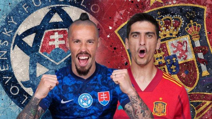Live Streaming Slovakia vs Spanyol di Euro 2020, Morata Starter, Tayang di Mola TV Skor 0-0