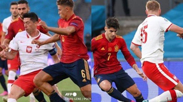 Euro 2020 Slovakia Vs Spanyol, Hasil Laga Polandia Vs Swedia Penentu Lolos La Furia Roja Bila Imbang