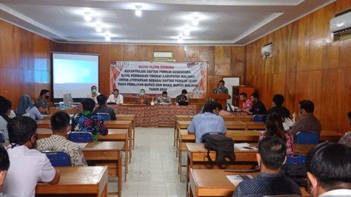 RESMI, KPU Malinau Tetapkan 50.682 Daftar Pemilih Tetap Kabupaten di Pilkada Malinau