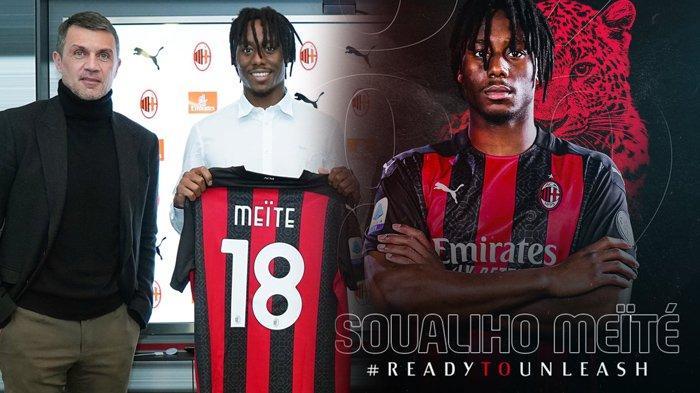 RESMI AC Milan Rekrut Soualiho Meite di Bursa Transfer Januari, Eks Striker Juventus Segera Merapat