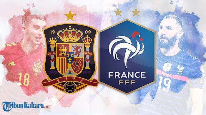 Live Streaming Spanyol vs Prancis, Final UEFA Nations League, Pembuktian Benzema, Tayang di Mola TV