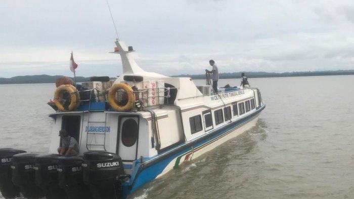 Jadwal Keberangkatan Speedboat Kaltara Rute Nunukan-Tarakan, Senin 13 September 2021, Penumpang Sepi