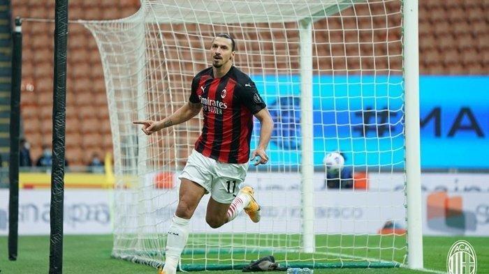 Mengaku Sudah Tua Bomber AC Milan Zlatan Ibrahimovic Sebut Kemampuan tak Seperti Dulu, Terutama Lari