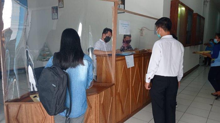 Hari Terakhir Penerimaan Berkas, Begini Suasana Pendaftaran Pegawai Non PNS di Dinkes Malinau
